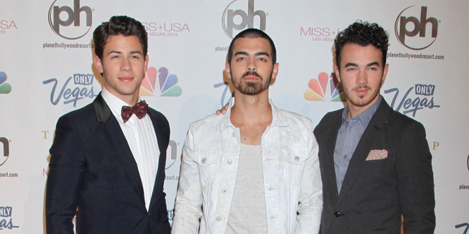 Jonas Brothers - Miss USA 2013 - Arrivals