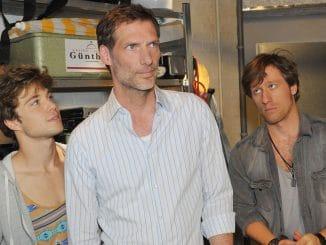 Zac (Jascha Rust, l.), Alexander (Clemens Löhr) und Bommel (Merlin Leonhardt, r.)