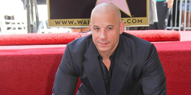 Vin Diesel - Vin Diesel Honored with a Star on the Hollywood Walk of Fame