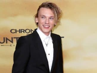 """Jamie Campbell Bower - """"The Mortal Instruments: City of Bones"""" Germany Premiere"""