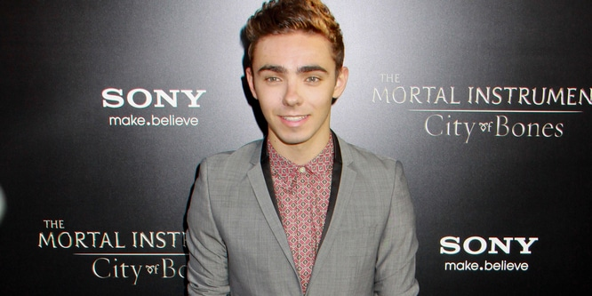 "Nathan Sykes - ""The Mortal Instruments: City Of Bones"" Los Angeles Premiere"