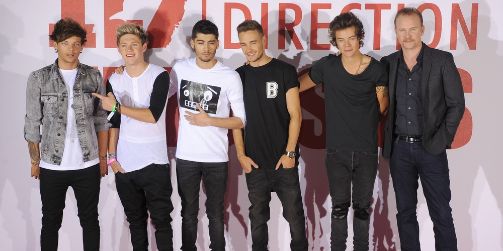 "One Direction Photocall Ahead of the ""One Direction: This Is Us"" World Premiere at Big Sky Studios in London"