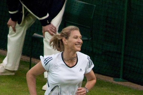 Stefanie Graf hält sich auch ohne Tennis weiterhin fit - Promi Klatsch und Tratsch