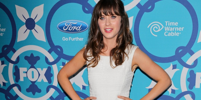 Zooey Deschanel - Fox Fall Eco-Casino Party 2013
