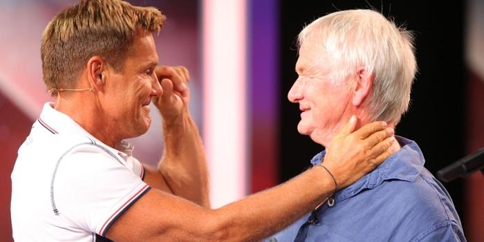 Wiedersehen nach fast 30 Jahren: Rainer Felsen (r., 70) war Dieters erster Produzent