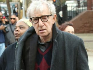 "Woody Allen - ""Fading Gigolo"" Filming at Williamsburg in Brooklyn"