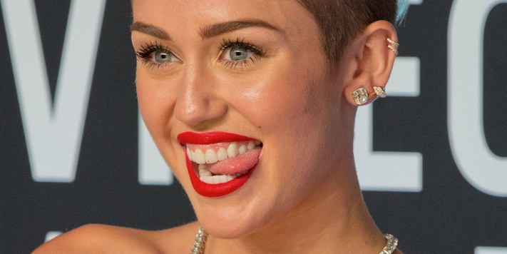 Miley Cyrus - 2013 MTV Video Music Awards - Arrivals