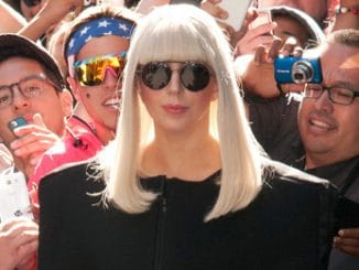 """Lady Gaga Sighted Departing ABC's """"Good Morning America"""" at ABC Studios in New York City"""