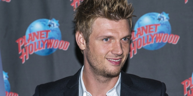 Nick Carter Handprint Ceremony at Planet Hollywood Times Square thumb