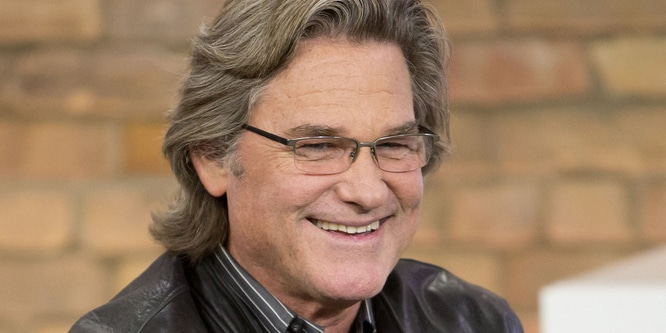 Kurt Russell Visits The Marilyn Denis Show in Toronto