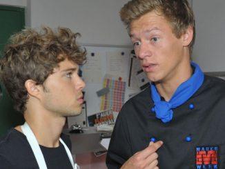 Zac (Jascha Rust) und Vince (Vincent Krüger, r.)