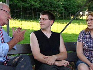 Peter Zwegat (l.), Tim und Michaela D.
