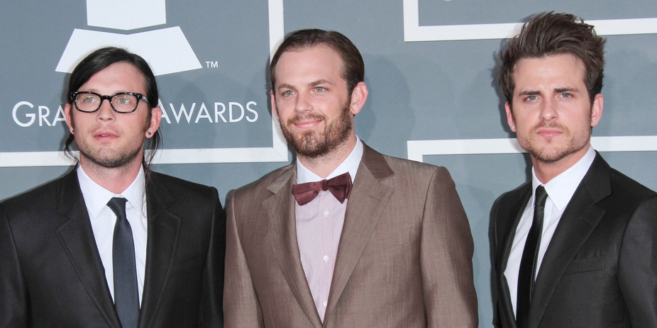 Kings of Leon - 54th Annual GRAMMY Awards - Arrivals