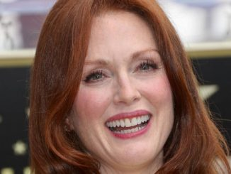 Julianne Moore Honored with a Star on the Hollywood Walk of Fame on October 3, 2013 - Hollywood Walk of Fame