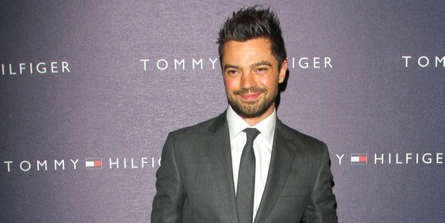 Dominic Cooper - Tommy Hilfiger Flagship Store VIP Launch Party - Arrivals - Tommy Hilfiger Flagship Store