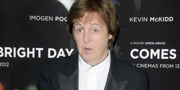"Paul McCartney - ""Comes a Bright Day"" UK Premiere - Arrivals"
