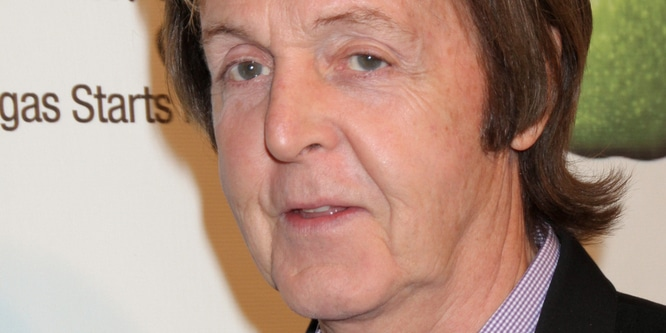 "Paul McCartney - 5th Anniversary Celebration of ""The Beatles LOVE by Cirque du Soleil"" at the Mirage in Las Vegas"