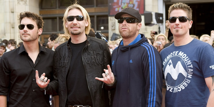 Nickelback - 2009 MuchMusic Video Awards - Red Carpet Arrivals - CTV Queen Street Headquarters