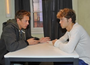 Vince (Vincent Krüger, l.) und Zac (Jascha Rust)