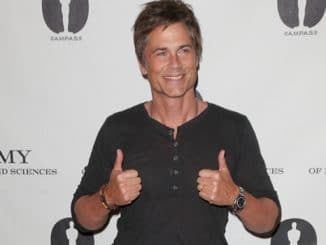"Rob Lowe - The Academy of Motion Picture Arts and Sciences' 21st Anniversary Screening of ""Wayne's World"" - Arrivals"