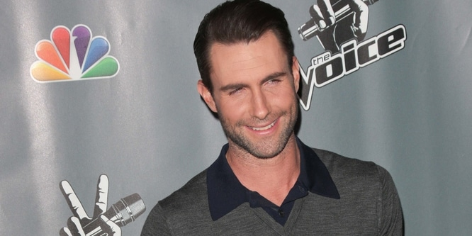 "Adam Levine - ""The Voice"" Season 5 Top 12 - Arrivals"