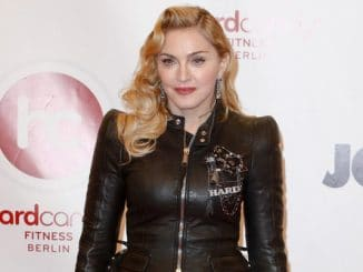 "Madonna - Madonna's ""Hard Candy"" Gym Opening Photocall in Berlin on October 17, 2013"