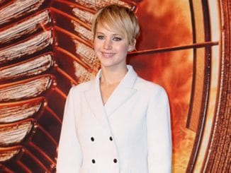 """Jennifer Lawrence - """"The Hunger Games: Catching Fire"""" Germany Premiere - Arrivals - Sony Centre"""