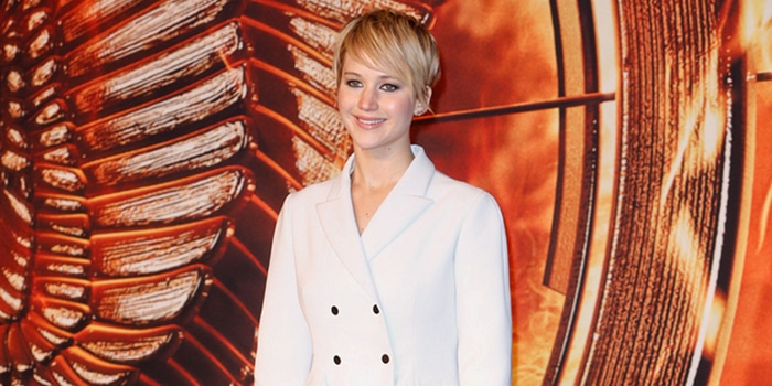 "Jennifer Lawrence - ""The Hunger Games: Catching Fire"" Germany Premiere - Arrivals - Sony Centre"