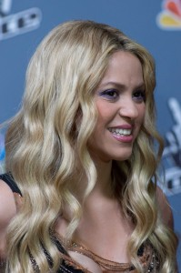 """Shakira - """"The Voice"""" Top 12 Elimination at NBC Universal Studios on May 14, 2013"""
