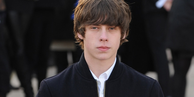Jake Bugg - London Fashion Week Fall/Winter 2013/14 - Burberry Prorsum