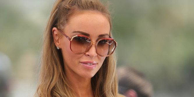 "Lauren Pope - ""The Only Way Is Marbs"" Filming at the Sisu Hotel Pool Party in Marbella on May 24, 2013 - Sisu Boutique Hotel and Day Club"