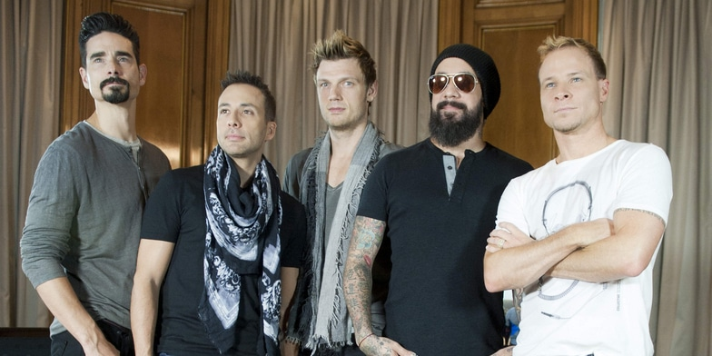 Backstreet Boys - Backstreet Boys 20th Anniversary Photocall at the Palace Hotel in Madrid on November 12, 2013 - Palace Hotel