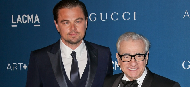 Leonardo DiCaprio and Martin Scorsese - LACMA 2013 Art + Film Gala Honoring Martin Scorsese and David Hockney Presented by Gucci - Arrivals