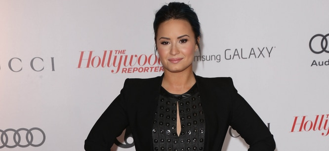 Demi Lovato - The Hollywood Reporter's Women In Entertainment Breakfast Honoring Oprah Winfrey - Beverly Hills Hotel