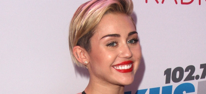 Miley Cyrus - KIIS FM Jingle Ball 2013 - Arrivals