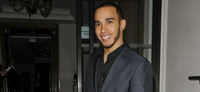 Lewis Hamilton - Shooting Stars Benefit 2012 Fundraising Dinner and Launch Party - Corinthia Hotel, Whitehall Place