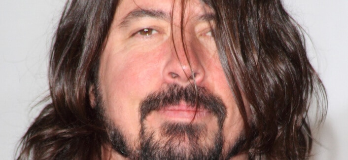 Dave Grohl - BRIT Awards 2013 - Arrivals - O2 Arena in North Greenwich