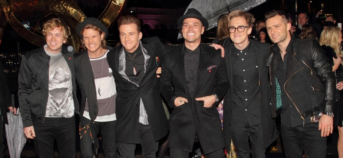 "McBusted - ""The Hunger Games: Catching Fire"" World Premiere - Arrivals"