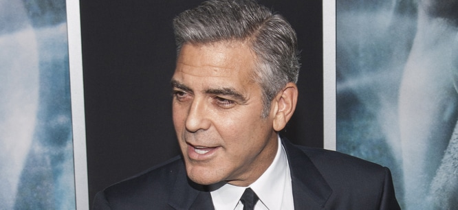 "George Clooney - ""Gravity"" New York City Premiere - Arrivals"