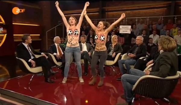 Nackt-Protest bei Markus Lanz gegen WM in Katar - TV News