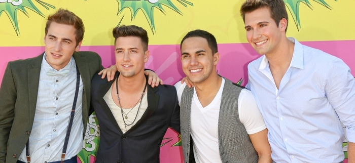 Big Time Rush - Atmosphere - Nickelodeon's 26th Annual Kids' Choice Awards