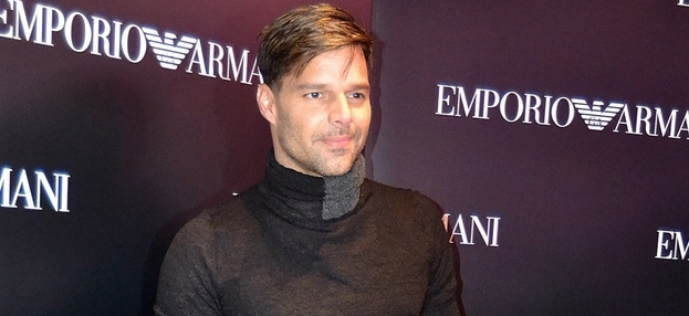 Ricky Martin - Emporio Armani Flagship Store Opening thumb