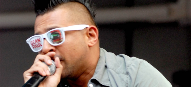 Sean Paul - B96 Pepsi Summerbash 2012 - Toyota Park