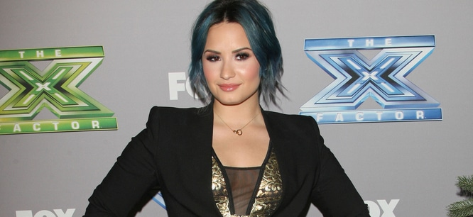 "Demi Lovato - FOX's ""The X Factor"" U.S. Season 3 Finale"