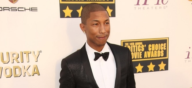 Pharrell Williams - 19th Annual Critics' Choice Awards - Arrivals
