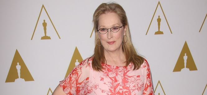 Meryl Streep - 86th Annual Oscars Nominee Luncheon - Arrivals