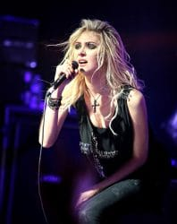 Taylor Momsen - The Pretty Reckless in Concert at Revolution Live in Fort Lauderdale