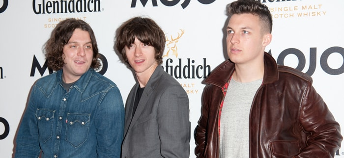 Arctic Monkeys - Glenfiddich Mojo Honours List 2011 - Arrivals