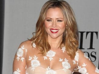 Kimberley Walsh - BRIT Awards 2014 - Arrivals