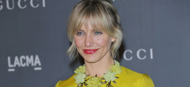 Cameron Diaz - LACMA 2012 Art + Film Gala Honoring Ed Ruscha and Stanley Kubrick Presented by Gucci - Arrivals